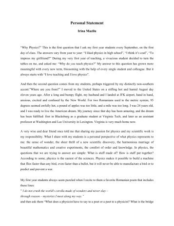 Reflection Paper Example Essays  Health Essays also Thesis Examples In Essays Essay Vcu Personal Statement Essay Example Thatsnotus With  Example Of A Thesis Essay