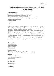 Demokrati - industrialisering_forloeb.pdf - historiedidaktik.dk