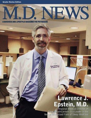 Lawrence J. Epstein, MD Lawrence J. Epstein, MD - Sleep ...