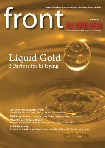 Download Front Burner Issue - Winter 2009 - Comcater