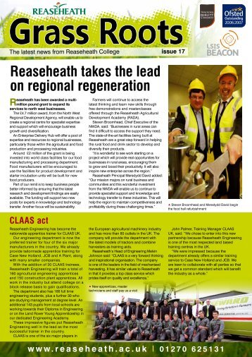 GrassRoots Edition 17 - Reaseheath College