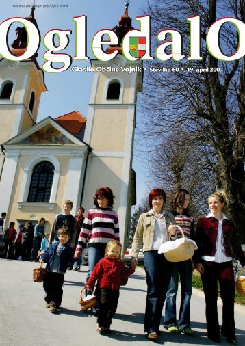 OGLEDALO, Številka 60, 19.april 2007 - Občina Vojnik
