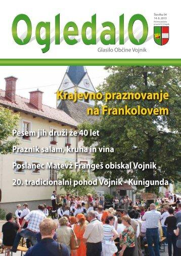 Ogledalo, številka 94, junij 2013 - Občina Vojnik