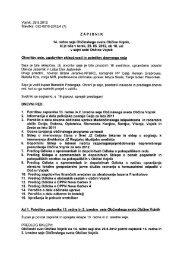 Zapisnik 14. redne seje OS - Občina Vojnik