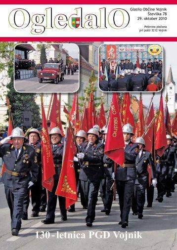 OGLEDALO, Številka 78, oktober 2010 - Občina Vojnik