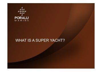 to view Virginie Segura's presentation - Singapore Yacht Show
