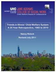 Trends in Illinois' Child Welfare System - Center for Adoption Studies
