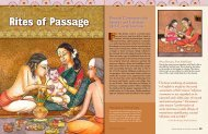 Rites of Passage - Hinduism Today Magazine