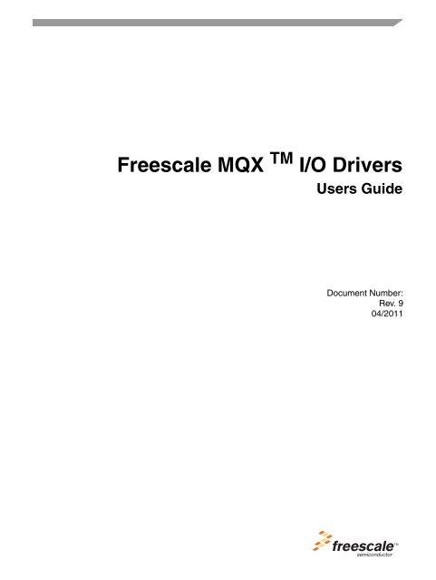 MQX FLEXCAN WINDOWS 10 DRIVER