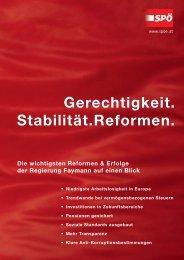 Gerechtigkeit. Stabilität.Reformen. - SPÖ Herzogenburg