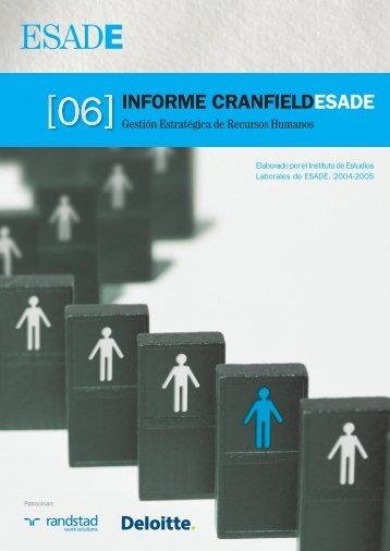 Informe Cranfield ESADE