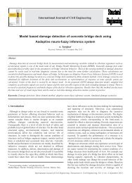 Model Based Damage Detection of Concrete Bridge Deck Using ...