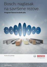 BOSCH Program listova kružnih pila