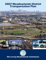 Meadowlands District Transportation Plan - New Jersey ...