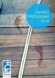 Jahres Programm 2014 - Regionalzentrum kirchlicher Dienste