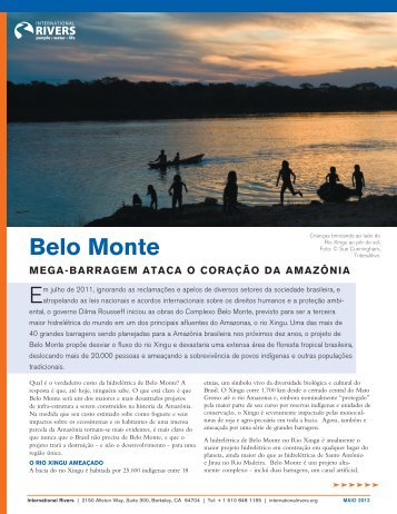 Belo Monte - International Rivers
