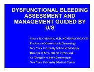 dysfunctional bleeding assessment and ... - Cmebyplaza.com
