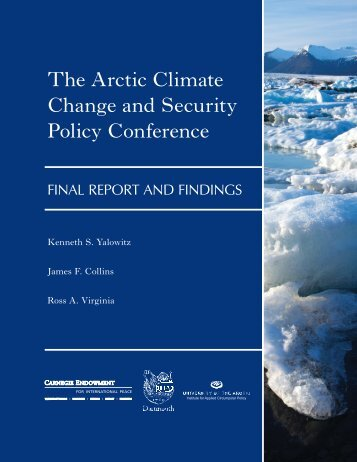 Arctic Climate Change and Security Policy Conference