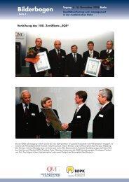 Bilderbogen - IQMG Institut für Qualitätsmanagement im ...