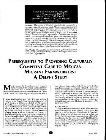 providing culturally competent care essay What is providing culturally competent care to filipino patients during labor and delivery 4 the term cultural competence (also known as cultural responsiveness.