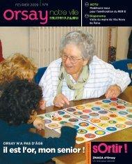 Orsay, notre ville - n°6 février