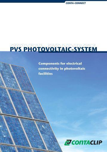 PVS PHOTOVOLTAIC-SYSTEM - CONTA-CLIP