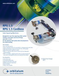 RPG 1.5 RPG 1.5 Cordless - Technical Tool Solutions