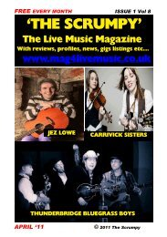 'THE SCRUMPY' - Mag 4 Live Music