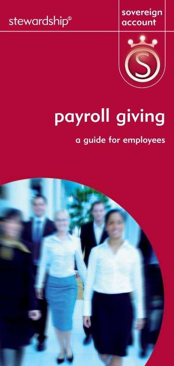 Payroll Giving   My Barratt Benefits