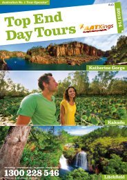 Australia-AAT Kings Top End Day Tours 2013-14 - msltravel.com