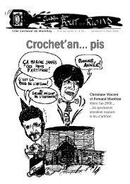 Crochet' an 2000 - Carnaval de Monthey