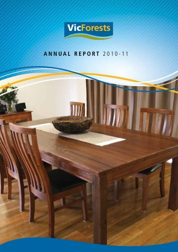 VicForests Annual Report 2011