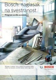 BOSCH Program svrdla za metal