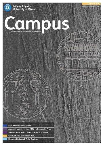Campus 2012 (English) - University of Wales