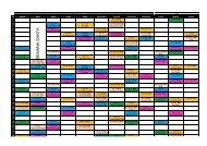 Calendari programa HB 2012-2013