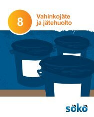 Vahinkojäte ja jätehuolto - Kymenlaakson ammattikorkeakoulu