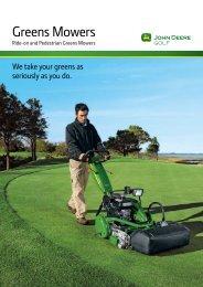 Greens Mowers Brochure - John Deere