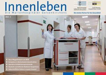 Innenleben 2013-2 - St. Augustinus Gelsenkirchen GmbH