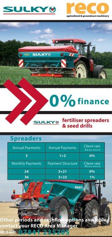 Spreaders finance - Reco