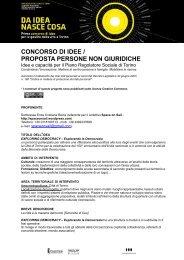 Idee e capacità per il Piano regolatore sociale di Torino