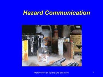 2 Hazard Communication