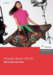 Printofix Binder T20-20