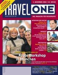 Azubi Workshop in München Azubi Workshop in ... - Travel-One