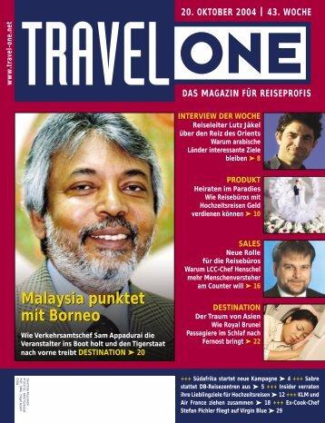 Malaysia punktet mit Borneo Malaysia punktet mit Borneo - Travel-One