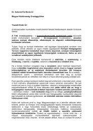 A kormánytisztviselők jogállásáról szóló törvényjavaslattal ...