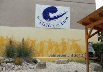 Jahresbericht-2012 als PDF ansehen - Diakonische Stadtarbeit Elim