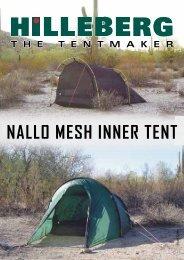 Hilleberg Unna Mesh Inner Tent black