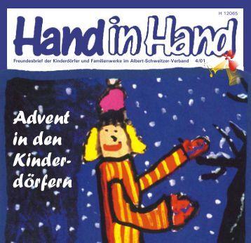 Advent in den Kinder- dörfern - Albert-Schweitzer-Verband