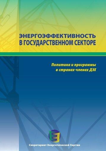 Энергоэффективность в государственном секторе - Energy Charter