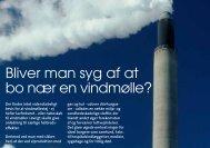 Bliver man syg af at bo nær en vindmølle? - Danmarks ...